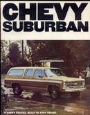 Chevy Suburban Showroom Car Book