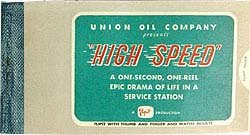 Union Car Flip Book
