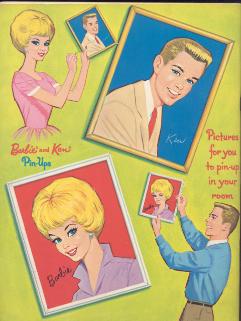 Barbie Ken Sticker Book
