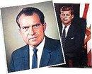 Nixon Kennedy Prints - 8 Vintage Political Print