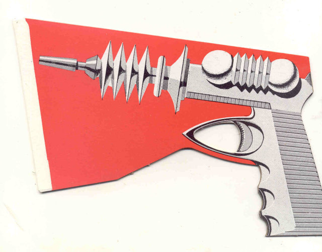 Buck Rogers Style Ray Gun Toy