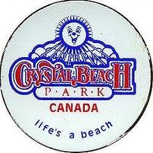 Crystal Beach Canada Park Magnets