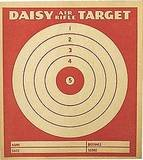 Daisy Air Rifle Targets 1936