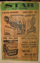 1949 Star Movie Theatre Poster Sign