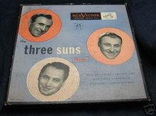 Vintage RCA VICTOR The Three Suns Tape * Reel Box