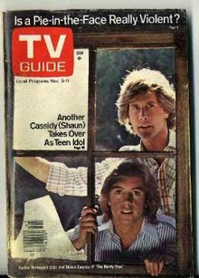 1977 HARDY BOYS TV Guide * Cassidy