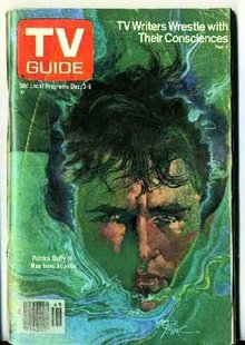 1977 PATRICK DUFFY TV Guide * ATLANTIS