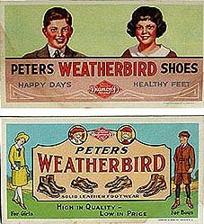 Peters Weatherbird Shoe Blotters