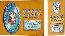 Blue Chip Chipmunk Stamps Booklets