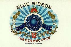 Blue Ribbon Cigar Labels Collections