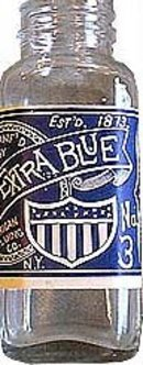 1920s American Extra Blue Bottle