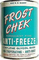 Frost Chek Anti Freeze Display