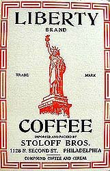 Statue of Liberty Coffee Box
