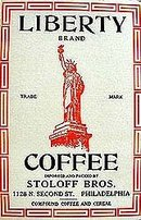 Statue of Liberty Coffee Box