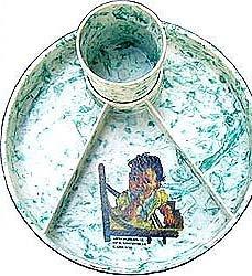 CHILD'S DISH SET ~ MELMAC TYPE 1940S