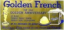 KEWPIE GOLDEN FRENCH ICE CREAM POSTER ~ GOLD ANNIVERSARY
