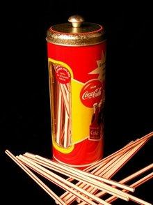 COCA-COLA SODA DINER STRAW DISPENSER