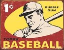 TOPPS BASEBALL SIGN ~ BUBBLEGUM TIN