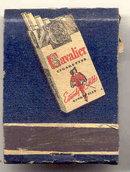Cavalier Cigarettes Matchbook