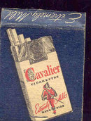 Cavalier Cigarettes Matchbook