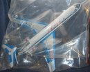 VINTAGE AIRPLANE TOY ~ UNITED AIRLINES PLANE 1960S
