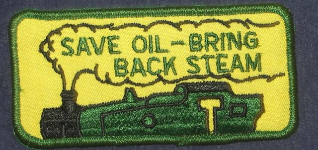 VINTAGE OIL PATCH ~ ship 1960s