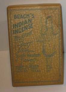 Beach's Indian El Paso Texas Incense in Box