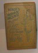 Beach's Indian El Paso Texas Incense in Box
