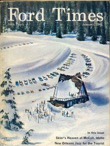 FORD CAR MAGAZINE ~ VINTAGE 1965
