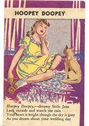 VINTAGE HOOPEY DOOPEY CARD
