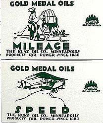 Gold Medal Blotters 1915