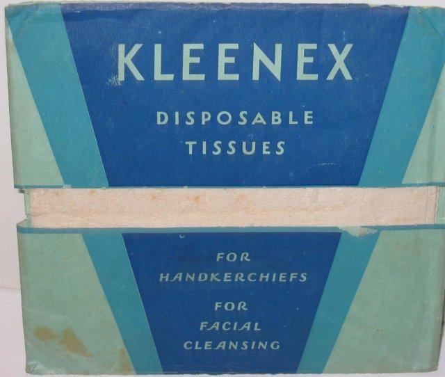 Kleenex Tissue Pack 1960s Full