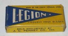 Legion Razor Blades - JC Penney