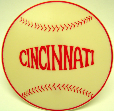 Cincinnati Reds Baseball Toy