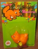 VINTAGE SKIPPING SQUIRREL TOY ~ HONG KONG