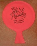 VINTAGE RED WHOOPIE CUSHION ~ 1970s