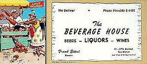 Lawson Woods Liquor Blotters