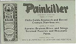 Painkiller Medicine Blotter Sign