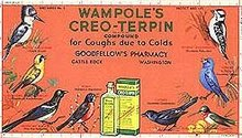 Wampole Goodfellows Medicine Blotter