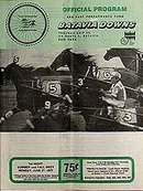 Batavia Downs Horse Racing Program