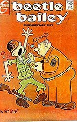 Beetle Bailey Comic Book