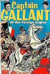 Captain Gallant Comic Book - 1955 Buster Crabbe Flash Gordon