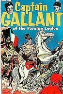 Captain Gallant Comic Book - 1955 Buster Crabbe Flash Gordon