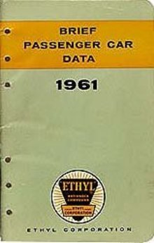 Ethel Gasoline Passenger Travel Booklet