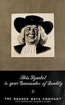 QUAKER OATS BOOKLET ~ INSIDE STORY 1940S