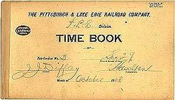 Pennsylvania Railroad Time Books