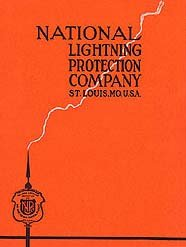 NATIONAL LIGHTING PROTECTION CO CATALOG 1930S