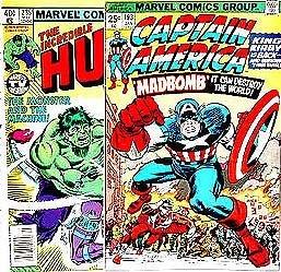 INCREDIBLE HULK COMIC BOOK ~ 1970S MARVEL COMICS SUPER HERO COMIC BOOKS