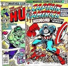 FANTASTIC FOUR COMIC BOOK ~ 1970S MARVEL COMICS SUPER HERO COMIC BOOKS