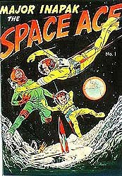 MAJOR INAPAX SPACE AGE COMIC BOOK 1951
